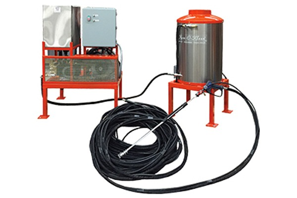 Stationary Cleaning Units